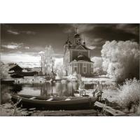 Два монастыря и святой источник города Залесья